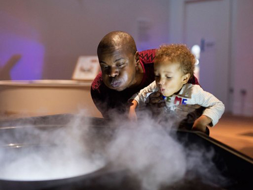 science museum experiments for families