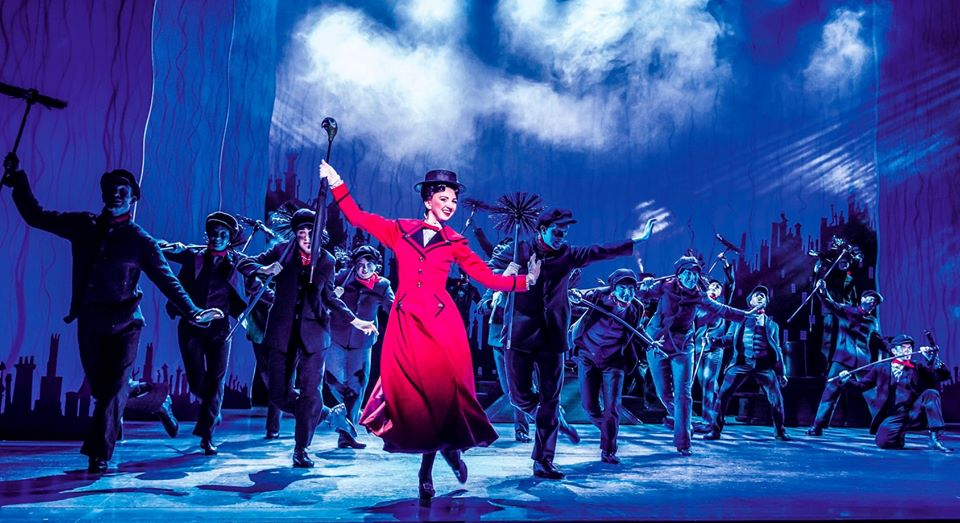 mary poppins on stage things to do with kids in february half term