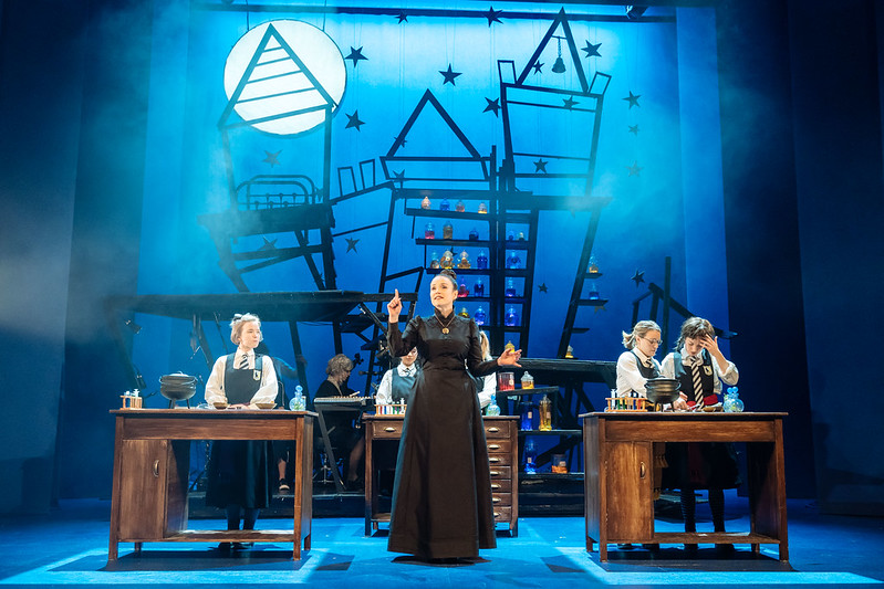 Scene from the Worst Witch at the Vaudeville Theatre