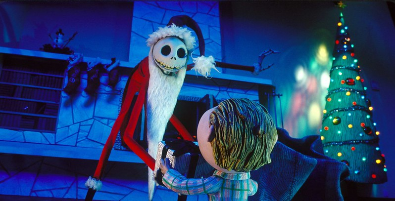 scene from the movie the nightmare before Christmas