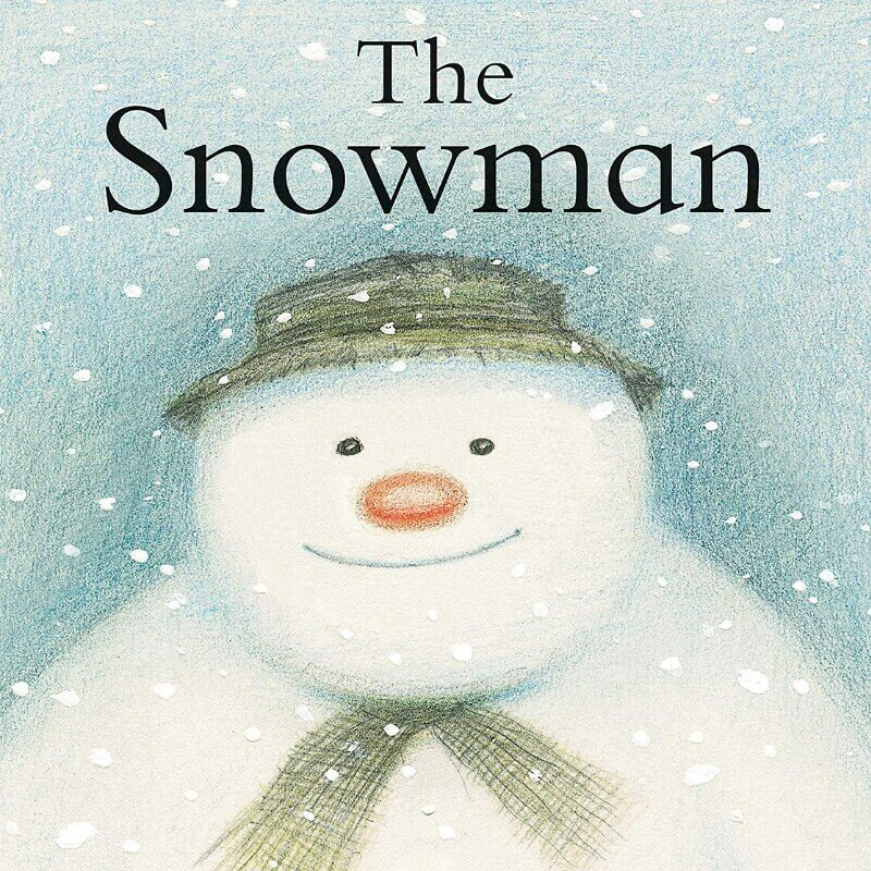 Snowman book for 2 year old