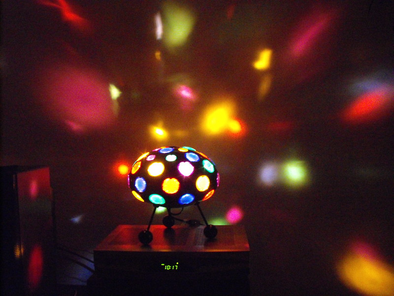 Disco lights for babies