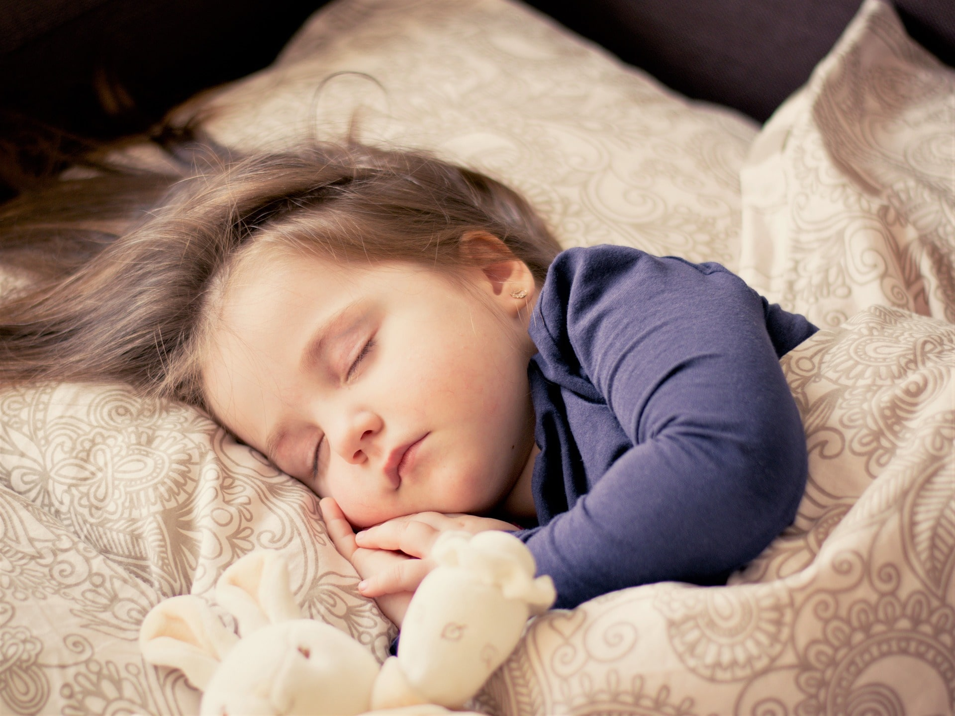 toddler sleeping peacefully