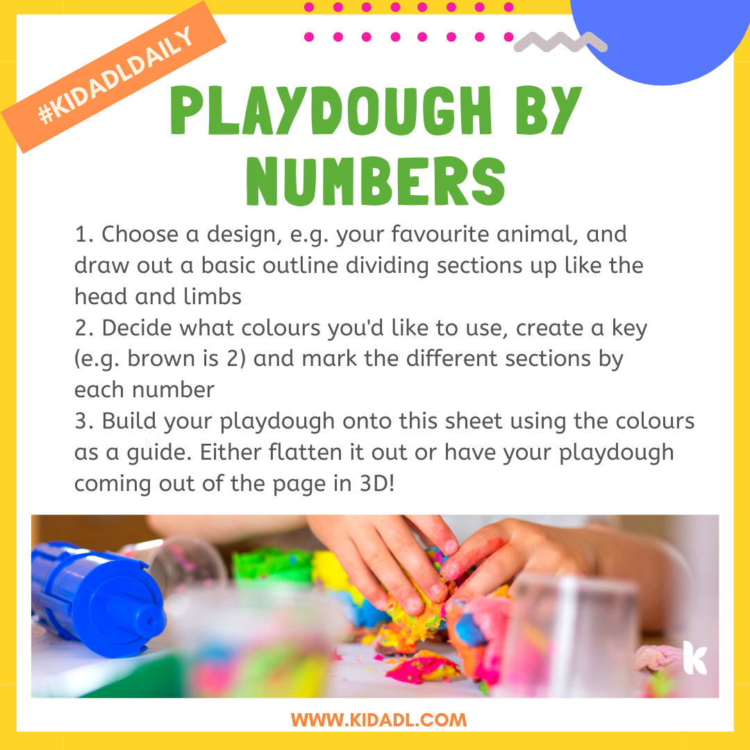 playdough by number