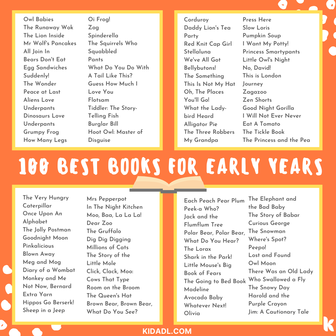 best books for early years