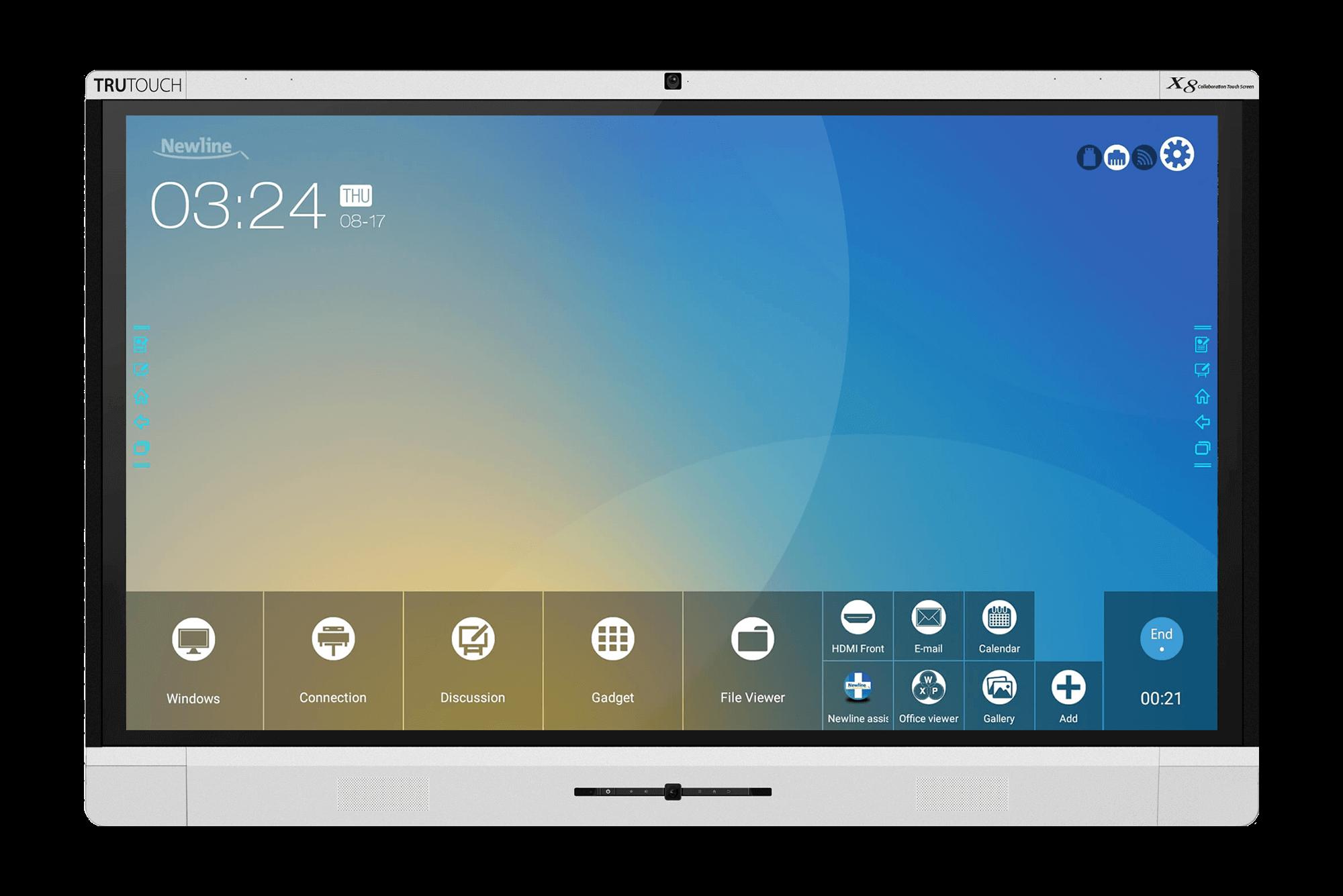 NewLine Interactive Touchscreen Display X-Series