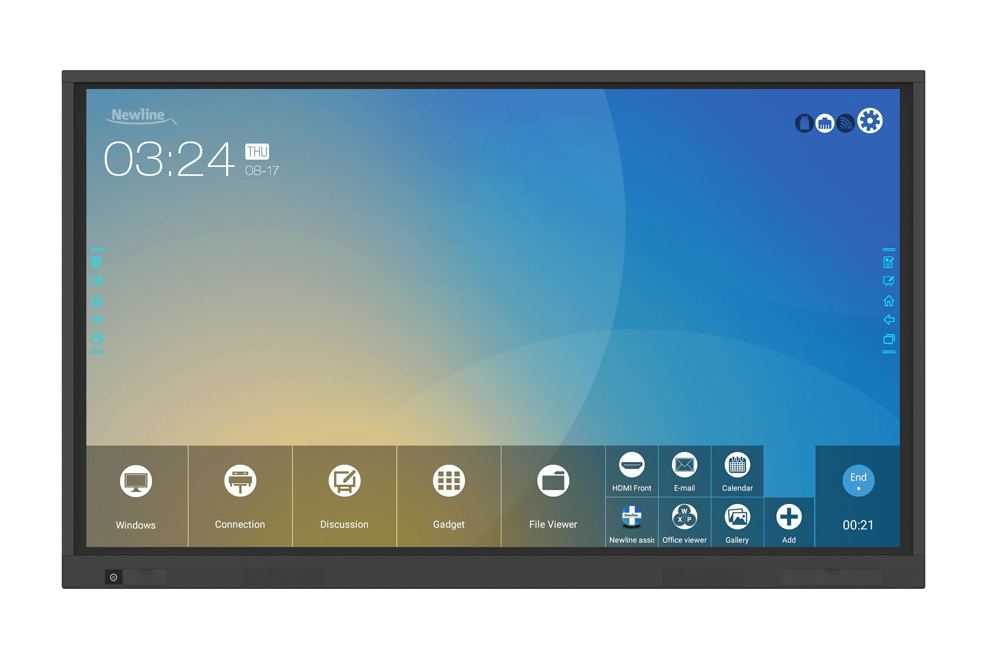 NewLine Interactive Touchscreen Display VN-Series