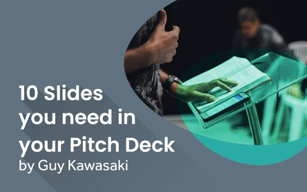 Guy Kawasaki Pitch Deck Template