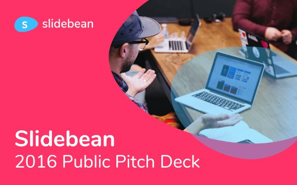 Slidebean pitch deck template