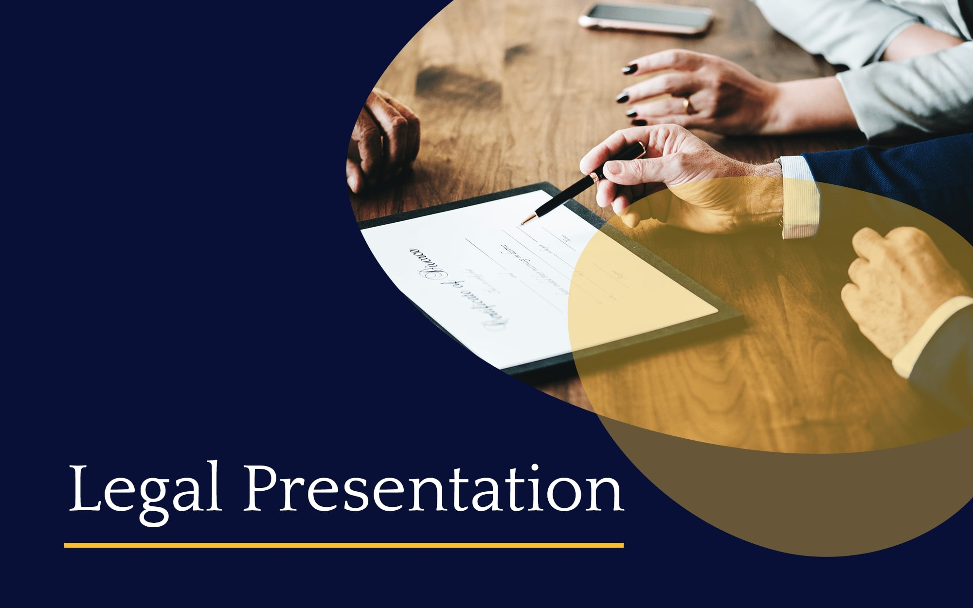legal powerpoint template