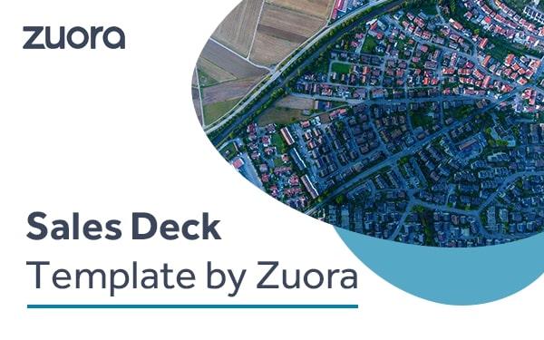 Zuora sales deck template