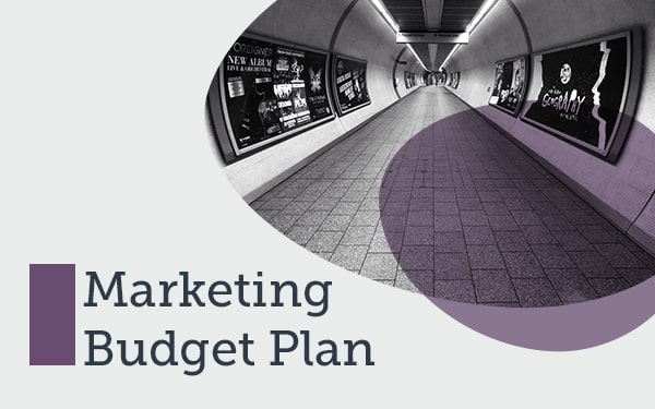 Modèle de plan de budget marketing