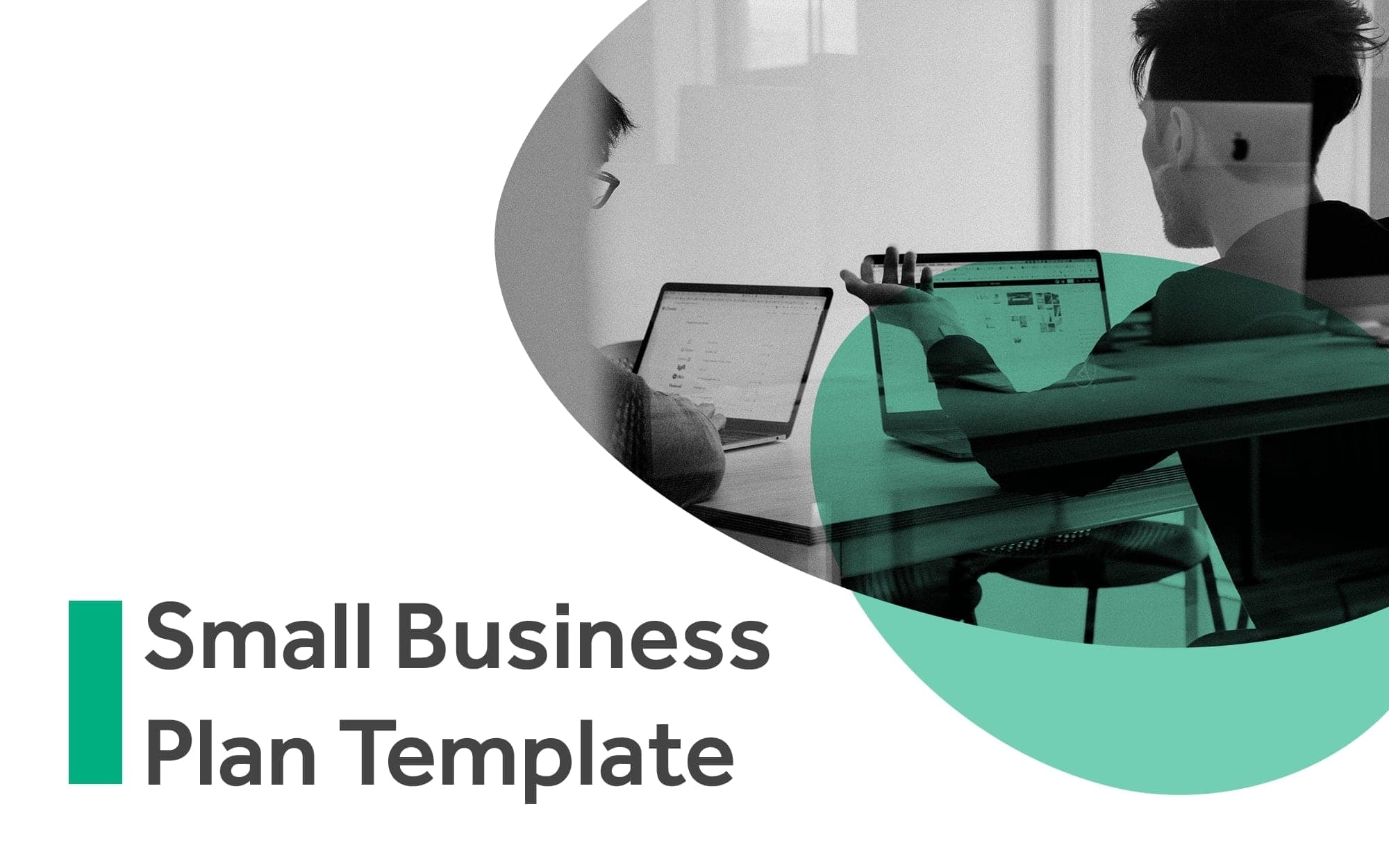 Small Business plan cover