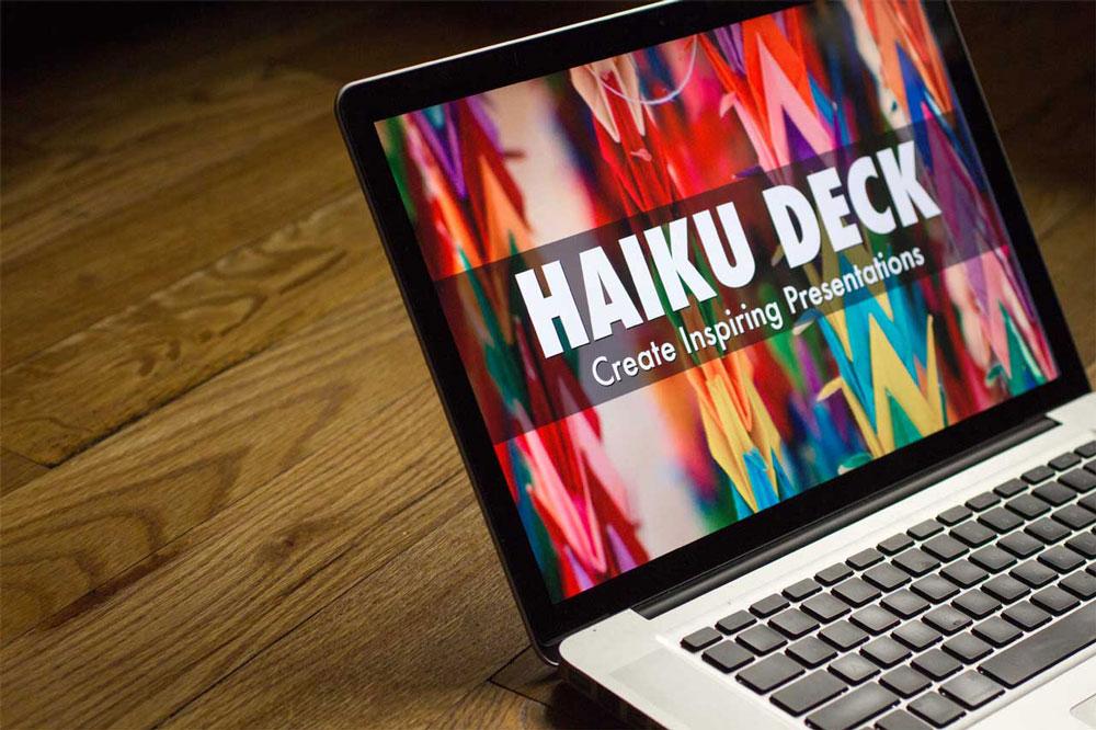 Haiku deck presentation website