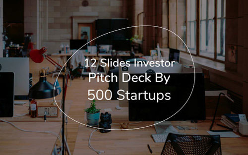 inversor pitch deck por 500 startups