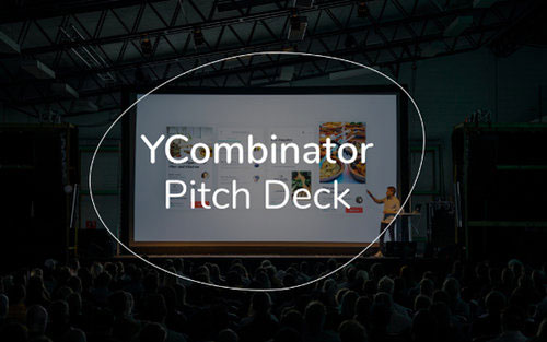 Pitch deck de YCombinator