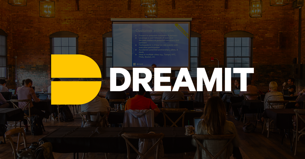 dreamit startup accelerator