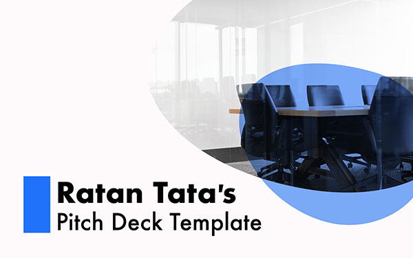 Ratan Tata Pitch Deck Template