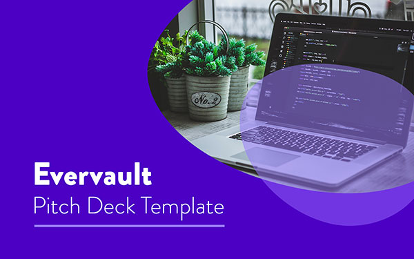 Plantilla  Pitch Deck de Evervault