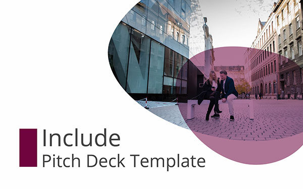 Inclure Pitch Deck un modèle