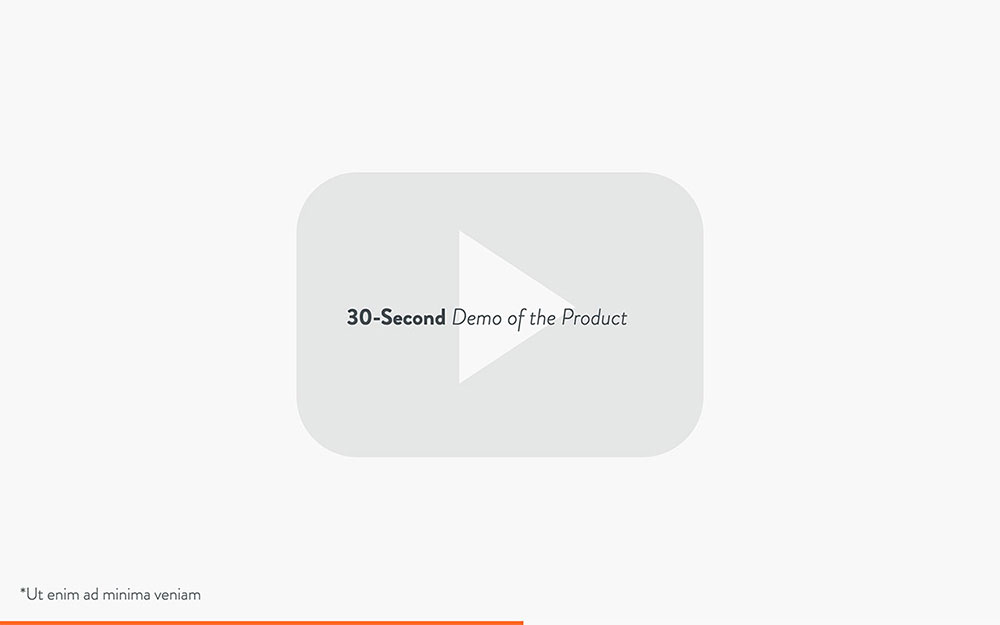 3 minute pitch deck template slide