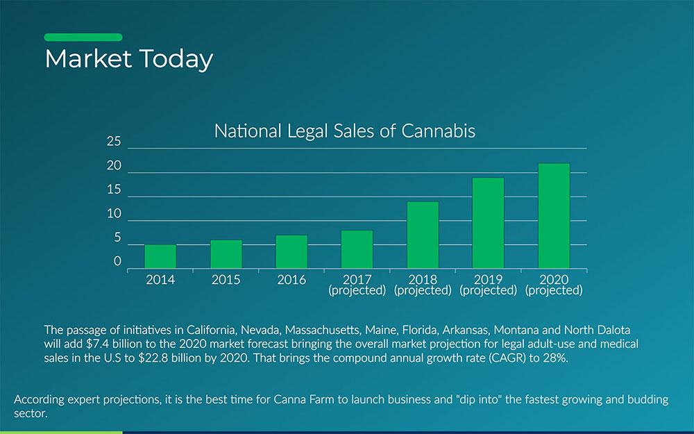 Cannabis Investor Pitch Deck Template