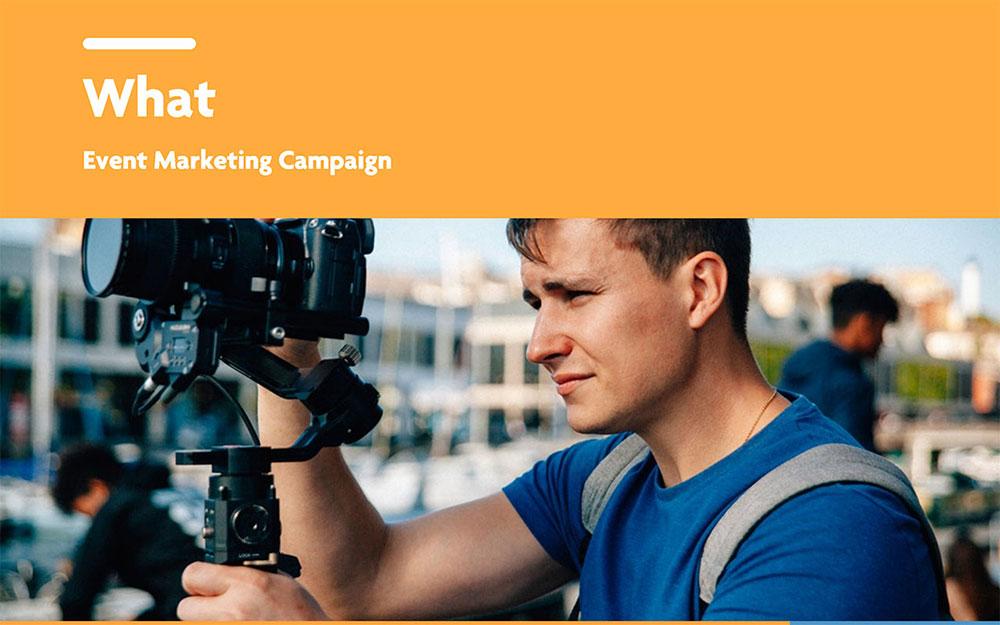 Modèle de plan de marketing événementiel