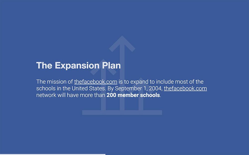 Facebook Pitch Deck Template