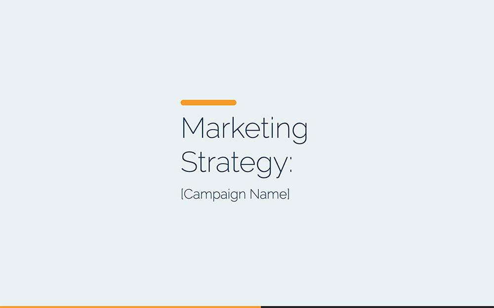 Marketing Campaign Template