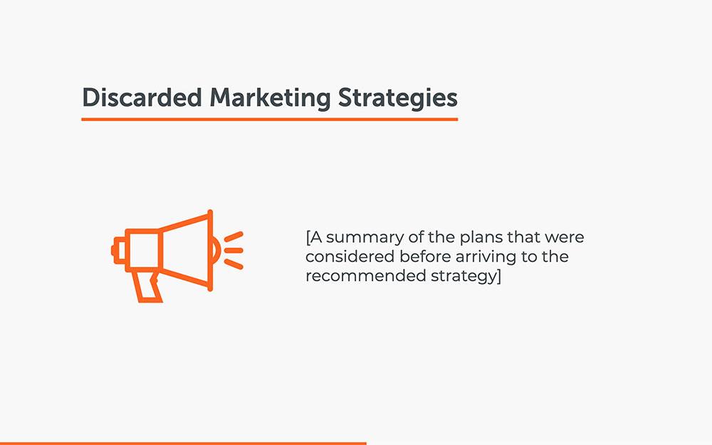 Présentation du plan de stratégie marketing
