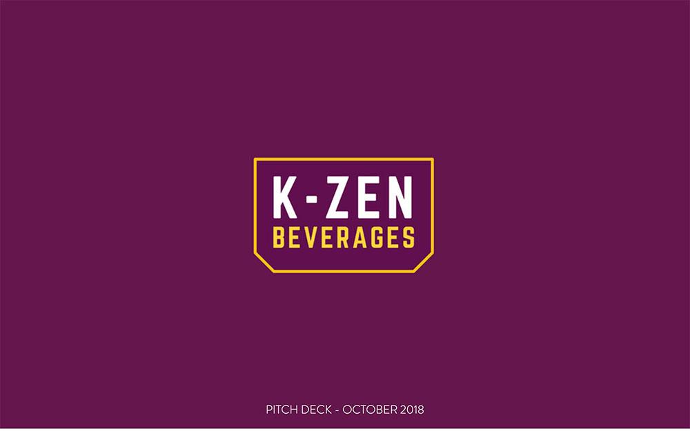 K-Zen Pitch Deck Template slide