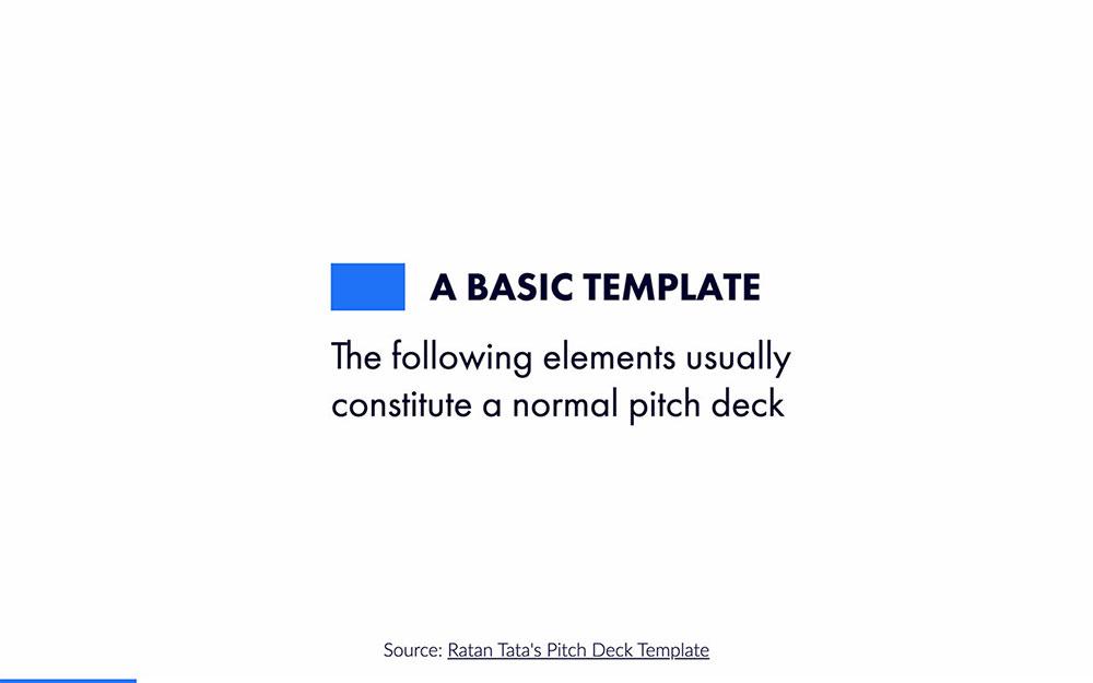 Ratan Tata Pitch Deck Template slide