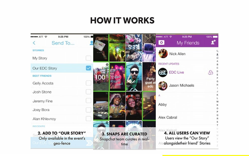 Snapchat Pitch Deck Template