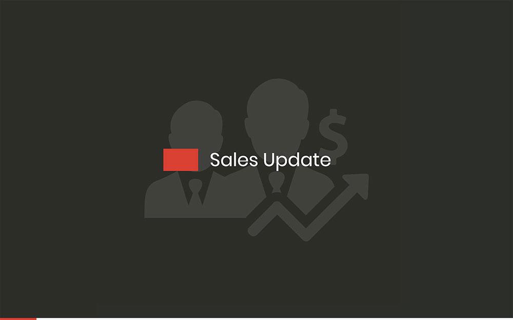 Modèle de rapport de vente