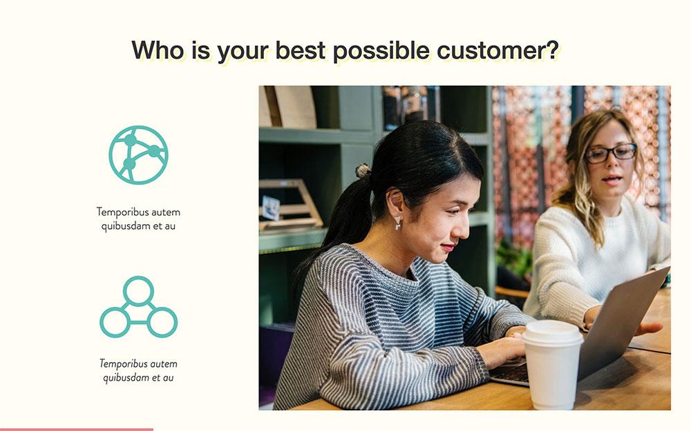 Modèle de profil de client