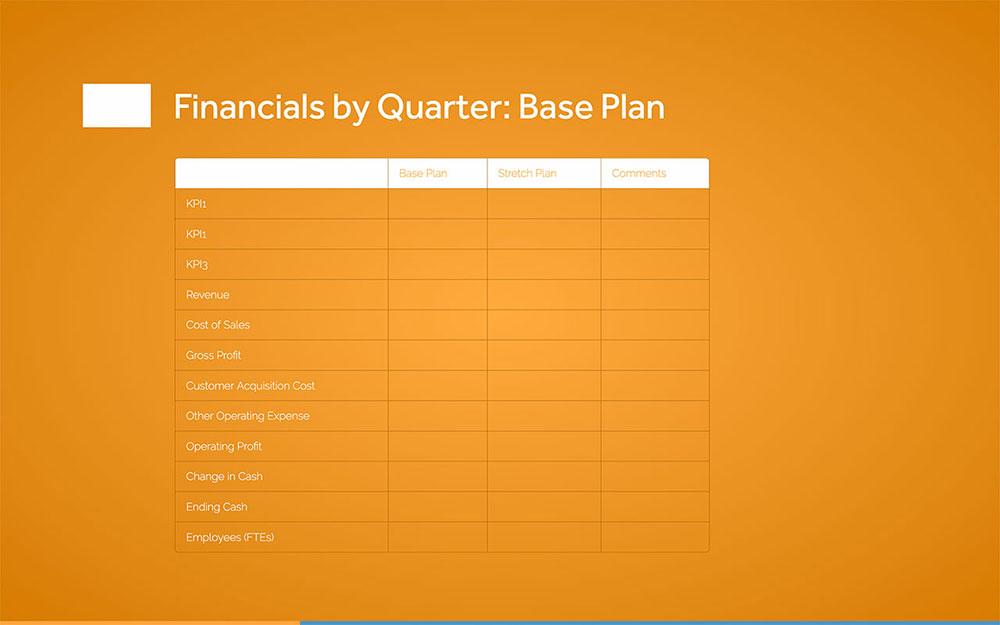 Operational Plan Template