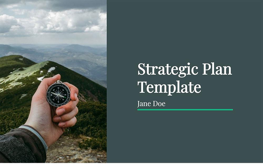 modèle de plan stratégique