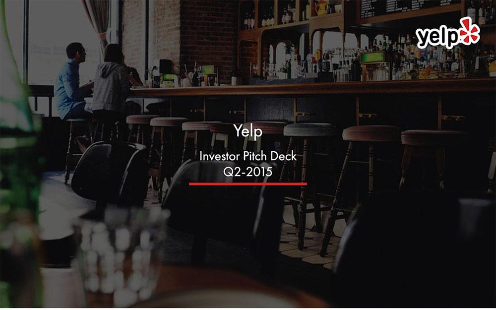 Yelp Pitch Deck