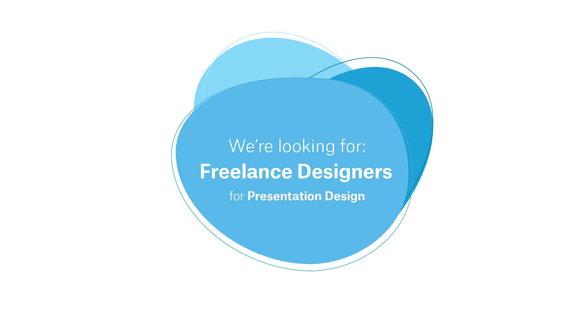 freelancer designer job opening