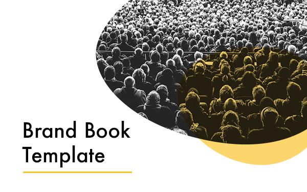 Brand Book, Template, Branding