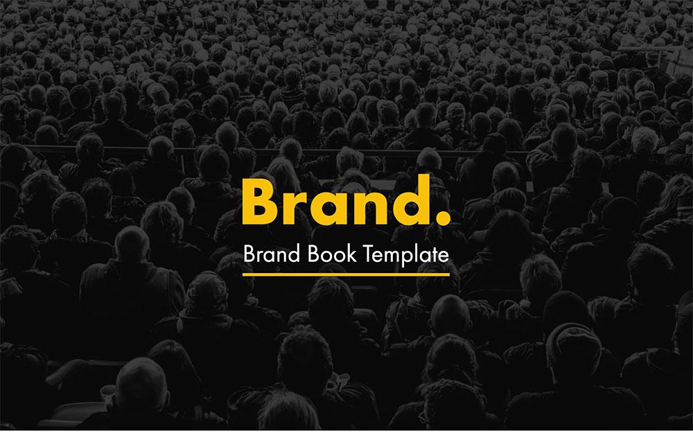 modèle de livre de marque