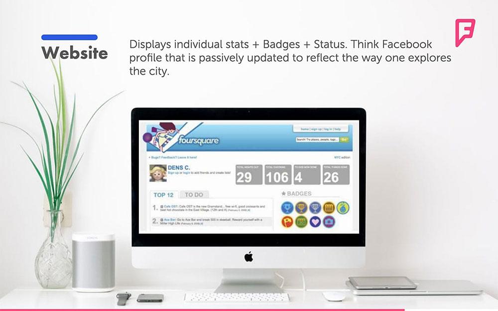 Foursquare Pitch Deck Template