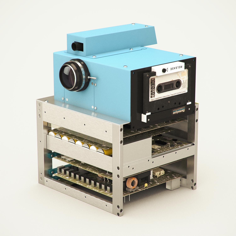 La primera cámara digital de Kodak