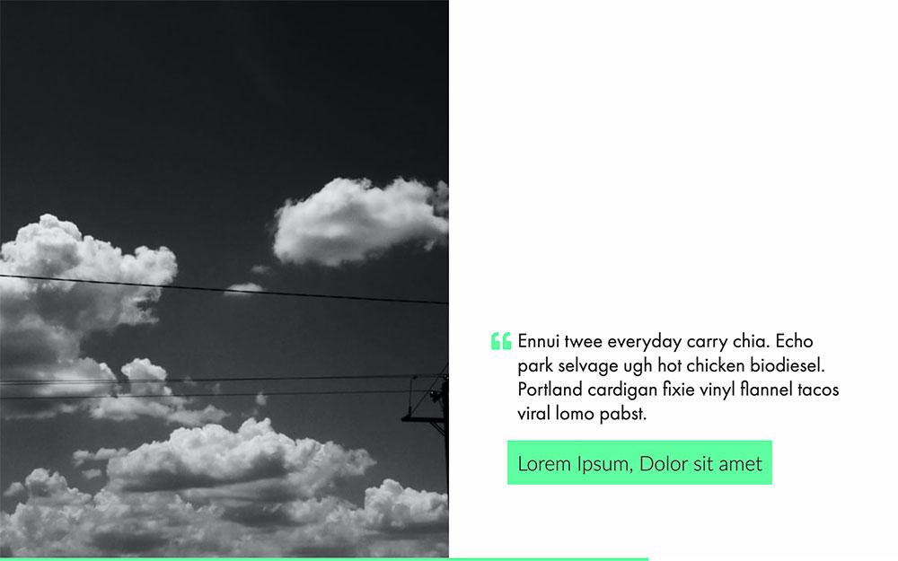 Webinar Presentation Template slide