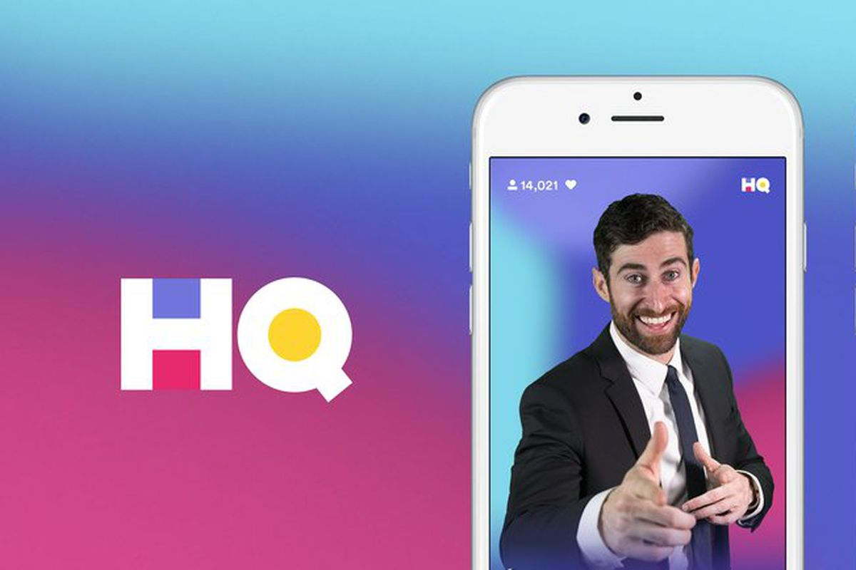 what happened to hq trivia - image shows show host over a purple background