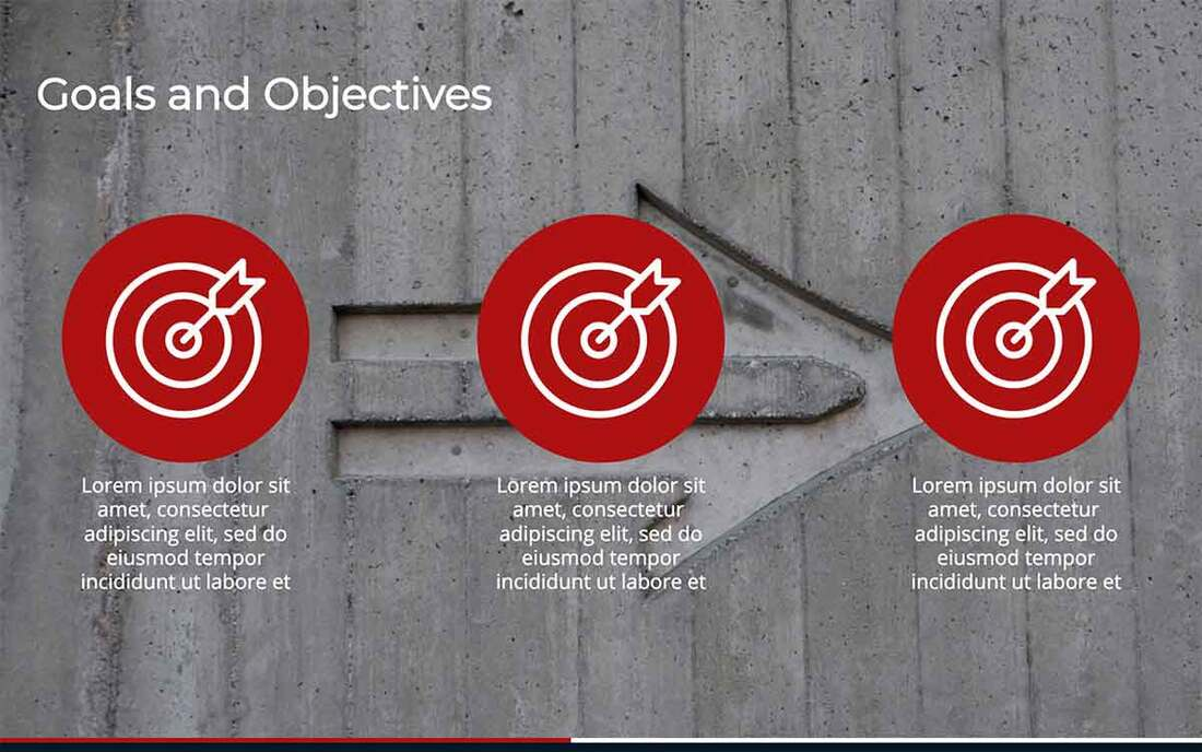 Image contains goals and objectives examples