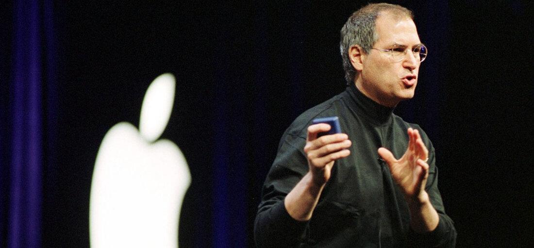 Steve Jobs, présentation et prise de parole en public