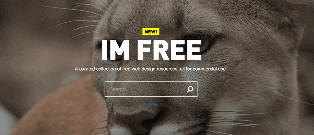 Image contains im free website
