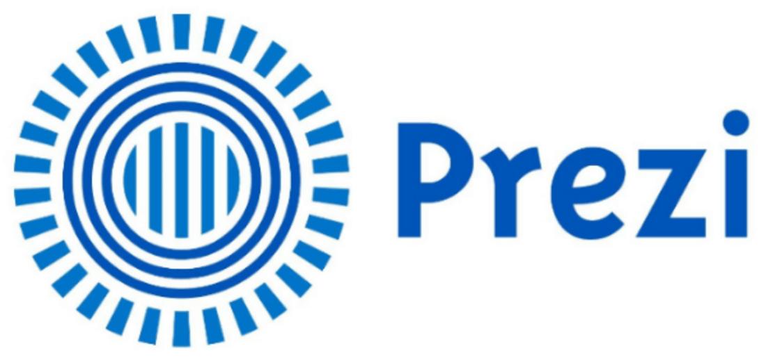 Image contains the prezi logo