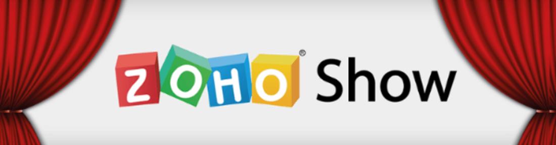 Image contains the zoho logo